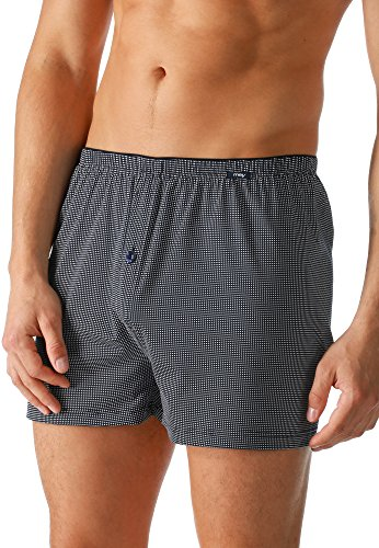 "Mey Club Coll. ""Mey Club Coll."" Herren Boxer-Shorts 62122 Yacht Blue"