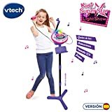 VTech 80-165822 Kidi Superstar Karaoké électronique interactif Rose
