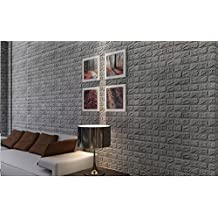 TWIFER 3D Ziegelstein Tapete Selbstklebend Brick Muster Wandaufkleber Fur Schlafzimmer Wohnzimmer Moderne Tv