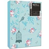 Anker-Bird Floral Cage saldati PP-Slip In-1-Album portafoto per 80 fotografie 10 x 15 cm