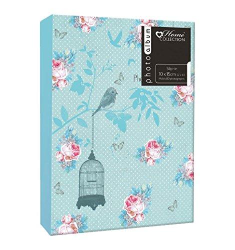 Preisvergleich Produktbild Anker Floral Vogelkäfig geschweißt Laufshirt PR PP 1 Up 192 Foto / Bild Alben an 80 4 x 6 Fotos
