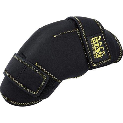Safe Max® Knie-Motorrrad-Protektor Kniewärmer mit Protektoren 1.0, Typ B (2er Set) schwarz, Unisex, Multipurpose, Ganzjährig, Textil, Einheitsgröße