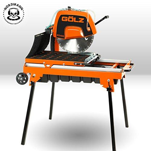 Preisvergleich Produktbild GÖLZ MS-400 Steinschneidemaschine - Made in Germany