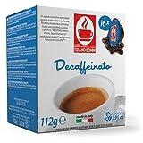 CB-LVZZ DECA 30% Arabica 70% Robusta | TIZIANO BONINI kompatibel Lavazza A Modo Mio ® 16 Kapseln alternative Koffeinfreie kompatible aus Italien für einen herrlichen Kaffeegenuss