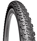 Cicli Bonin MITAS Scylla V75starr Reifen, unisex, 001551, Schwarz, Size 24 x 1.90