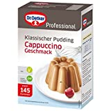 Dr. Oetker Professional Klassischer Pudding mit Cappuccino