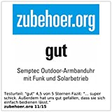 Semptec Urban Survival Technology Outdoor-Armbanduhr mit Funk und Solarbetrieb - 5