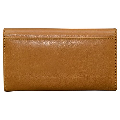 Le Craf Women's Wallet -Yellow