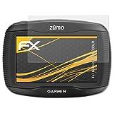 atFoliX Schutzfolie für Garmin Zumo 390LM Displayschutzfolie - 3 x FX-Antireflex blendfreie Folie