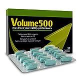 Volume 500 - mehr Sperma - bessere Qualität - 30 Tabletten + Ratgeber