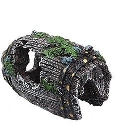 Tefamore acquario Grotta resina ornamento paesaggio Decor