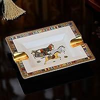 Posacenere in ceramica errando creative continental ceramica posacenere grande living room decoration,rettangolare
