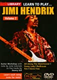 Learn to Play Jimi Hendrix 2 [Import anglais]