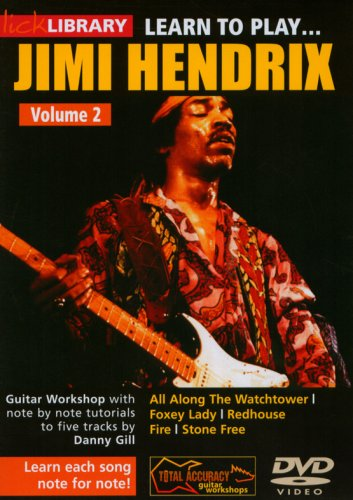 Lick Library: Learn To Play Jimi Hendrix Volume 2 [Edizione: Regno Unito]