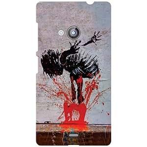 Nokia Lumia 535 - Drop Matte Finish Phone Cover