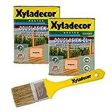 Xyladecor Douglasien-Öl, 1,5 l, helles Hartholz Plege- und Imprägnier Öl für Douglasie, Eukalyptus, Eiche, Robinie und Zeder