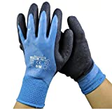 YXMxxm Gartenhandschuhe für Frauen und Männer, Arbeitshandschuhe für Mechaniker, BAU, Fahrerhandschuhe, Geschicklichkeits-Atmungsdesign (2 Paare),M