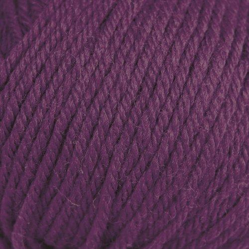 ROWAN Pure Wool Dk - Farbe: Damson (00030) - 50 g / ca. 130 m Wolle (Dk-garn Wool Rowan Pure)