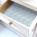 Fogli per cassetti all'aroma di rosa con design floreale William Morris, colore: blu Duck Egg