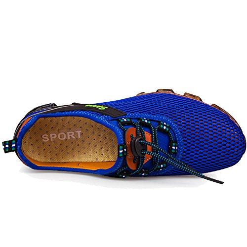 Leve Da Malha Correndo Royal Lâmina Azul Masculinos Mola Lilichan Rápida Secagem Respirável Água De Atlético Sapatos De 78nq1v8