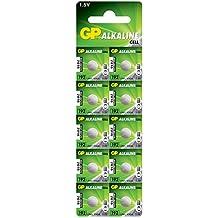 GP - Pilas de botón alcalinas (10 unidades)
