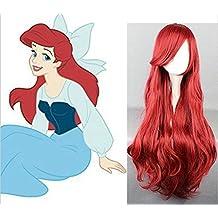 La Sirenita - Peluca Ariel (Adulto-Niño)