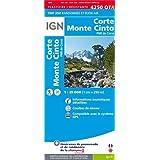 4250OTR CORTE/MONTE CINTO/PNR DE CORSE (RESISTANTE)
