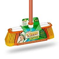 KRESS Kleen Captain (Indoor Soft Bristle Broom), 8051_Orange