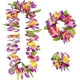 Widmann 9136W–Maui Hawaii-Set bestehend aus Halskette/Krone/Armband, in Einheitsgröße