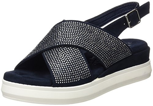 Xti Ladies 046743 Blu Plateau
