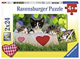 Ravensburger Puzzle 07801 - Verschlafene Kätzchen