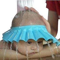 Soft Baby Child Bath Shampoo Shower Cap Hat - Pink