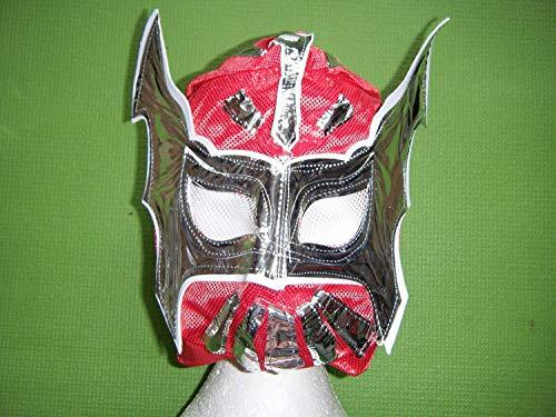 Cara Kinder Maske - Rote Sünde Wrestling WWE Maske
