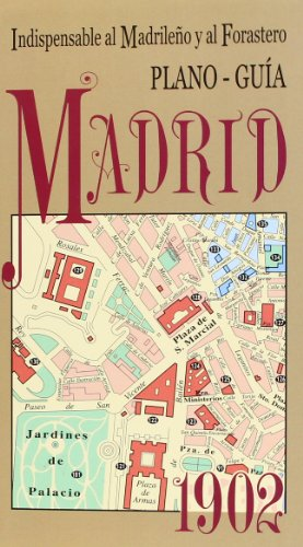 Plano guía Madrid 1902