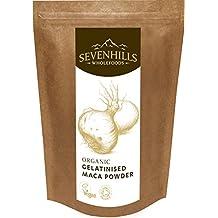 Sevenhills Wholefoods - Maca gelatinizada en polvo orgánico, 500 gramos