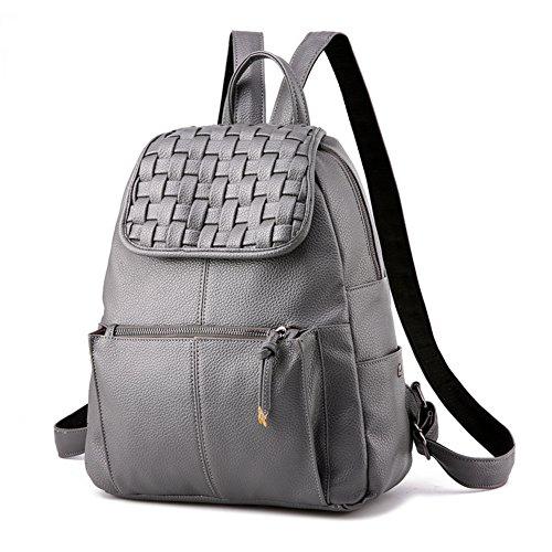 Rucksack/Damen-Rucksack/Casual chic einfache Frauen Taschen-grau grau