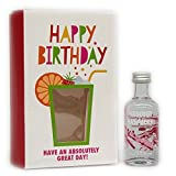 Absolut Vodka Raspberri Giftpack UK 50ml 40% Vol.