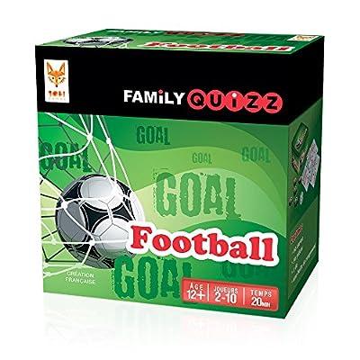 Topi Games - FAM-FO-348901 - Family Quizz Foot - Le Jeu Pour tous les fans De Foot !