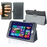 Navitech Clavier fin noir sans fil Android 3.0 pour Asus memo Pad 8 / Acver Iconia A1 / LG G PAD 8.3 Odys Wintab 8 Zoll Schwarz 8 Zoll