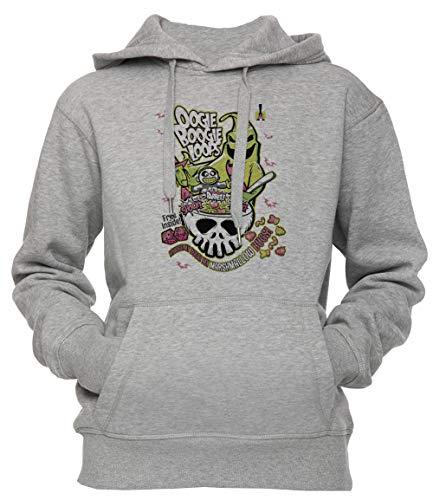 oops Unisex Herren Damen Kapuzenpullover Sweatshirt Pullover Grau Größe S Unisex Men's Women's Hoodie Grey Small Size S ()