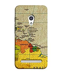 PrintVisa Designer Back Case Cover for Asus Zenfone 6 A600CG (Bright clean beautiful pic of Atlas)