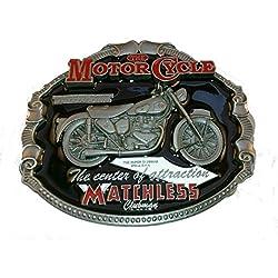 Other Motocicleta Biker inigualable Metal Hebilla de cinturón