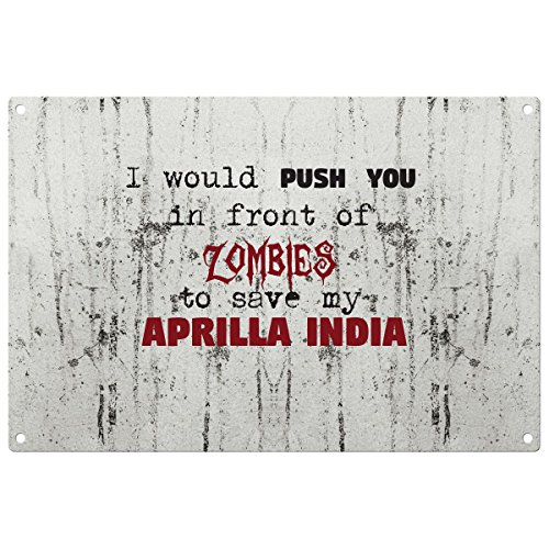 save-my-aprilla-india-from-the-zombies-vintage-decorative-wall-plaque-ready-to-hang
