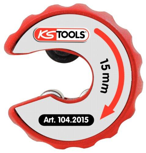 KS Tools 104.2015 Kupferrohr Ratschen-Rohrabschneider, 15mm
