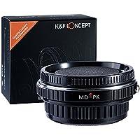 K&F Concept Adattatore per Montaggio Obiettivo per Minolta Rokkor SR MD MC Obiettivo per Montaggio su Pentax K PK Supporto per Fotocamera per Pentax K-7 KX KR K-5 K-01 K-30 K-5I K-5IIS K-500 K-50 K-3 K-S1 K-70 K70 KS 2 K1000 K1 KP K3 K50