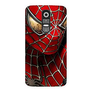 Cute Spide Two Red Back Case Cover for LG G2