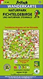 Fritsch Karten, Nr.52, Naturpark Fichtelgebirge und Naturpark Steinwald (Fritsch Wanderkarten 1:50000) -