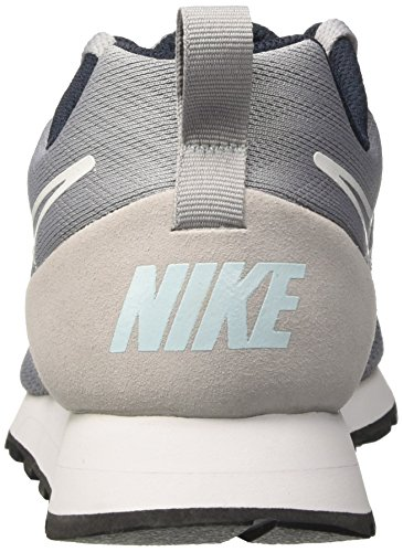 Nike Md Runner 2 Br, Chaussures de Tennis Homme Gris (Wolf Grey/wolf Grey/armory Nav)