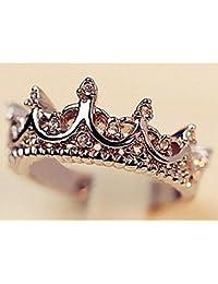 Amazon.es  corona reina - Anillos   Mujer  Joyería 9e4835893e2