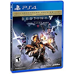 Activision Destiny: The Taken King Legendary Edition, PS4 - video games (PS4, PlayStation 4, FPS (First Person Shooter), Bungie, T (Teen), ENG, Activision)